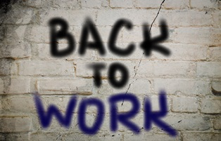 Returning to work after an on-the-job injury