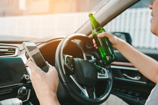 Driving behaviors that cause accidents
