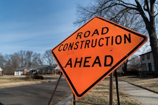 Accidents in construction zones