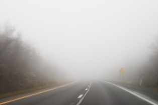 Accidents in foggy weather