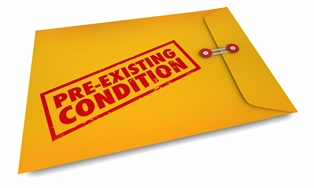 Workers' comp for a pre-existing condition