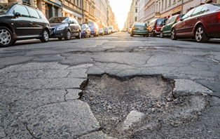 Road defects that cause car accidents