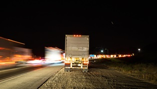 Drowsy truck drivers