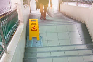Liability for slip and falls