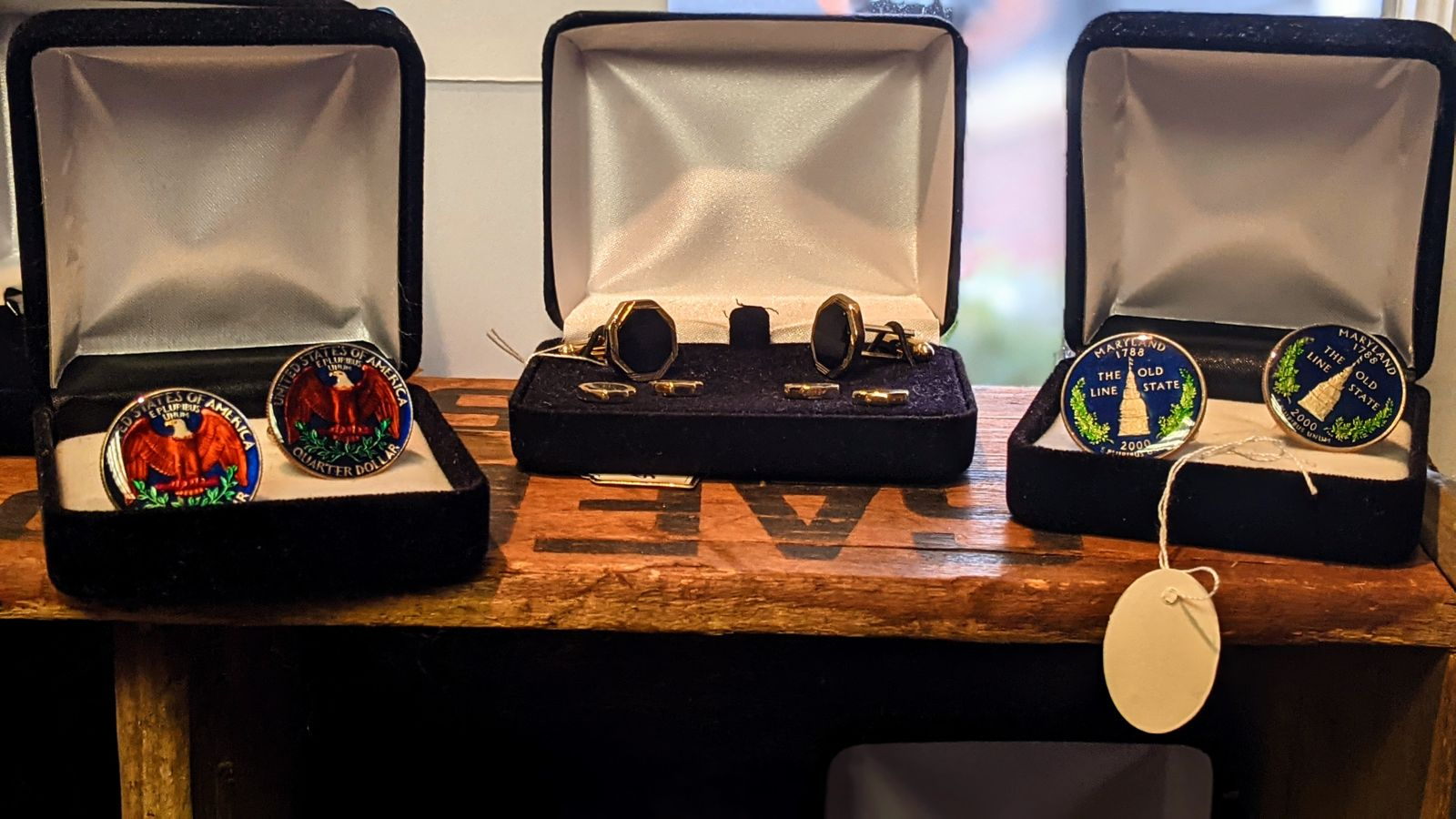 cufflinks and accessories Washington DC Fairfax VA