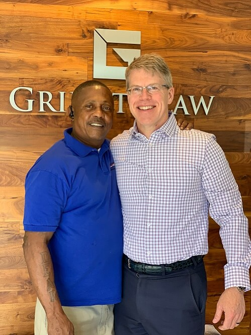 Darrell with John Griffith