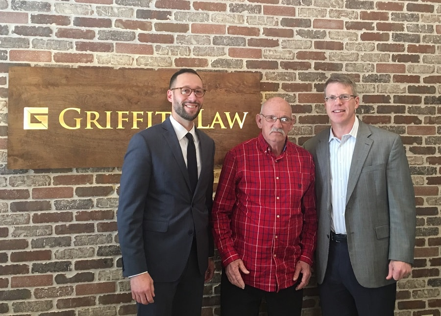 Larry and his team of attorneys at GriffithLaw