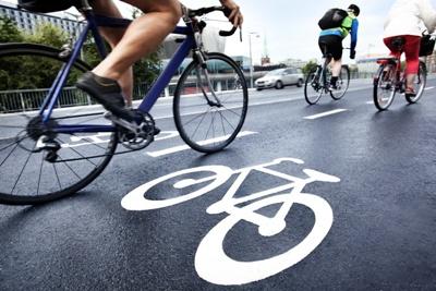 bicycle rider city