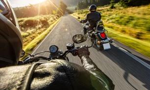 motorcycle riders on rural road