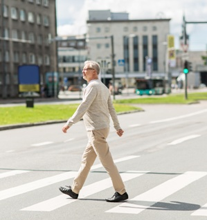 senior pedestrians face dangers