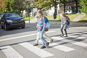 pedestrian accident dangers for children