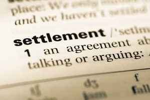 settlement definition dictionary page