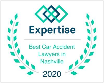 Best car accident lawyer in Nashville award