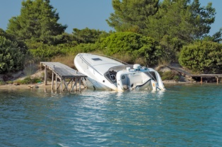 Injuries after a boating accident