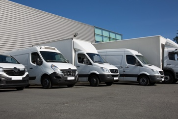 Various Sized Delivery Trucks