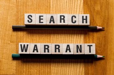 Search Warrant Letter Blocks