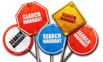 Numerous Search Warrant Signs Izquierdo Law Firm