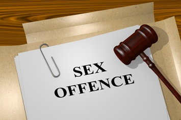 Sex Offence Paperwork With Gavel Sex Crimes Defense Law Firm Izquierdo Law