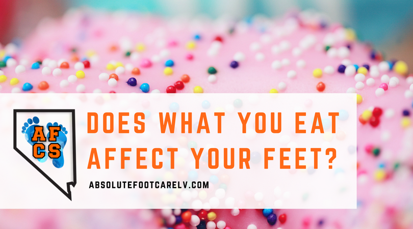 Does What You Eat Affect Your Feet?