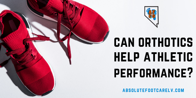 Can orthotics help athletic performance?