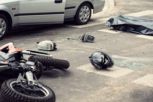 Comparative negligence in motorcycles crashes