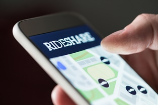 Accidents with rideshare drivers