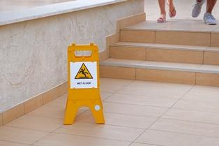 Hotel slip and falls