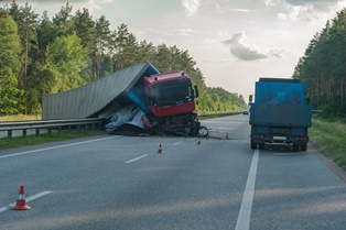 Liable parties in truck wrecks