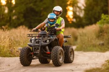 Someone may be liable for your child's ATV injuries.
