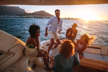 Drunk boaters can cause serious accidents.
