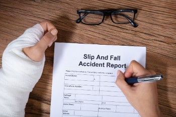 File your slip and fall claim quickly.
