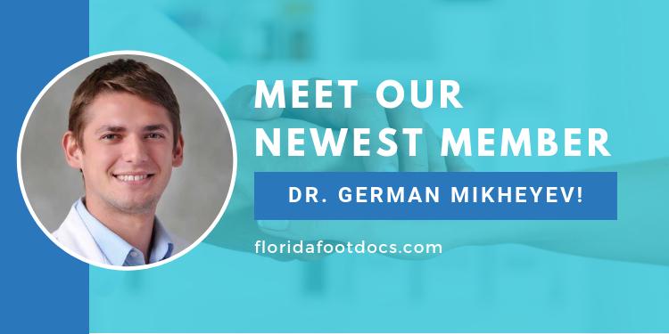 Meet our new member, Dr. German Mikheyev!