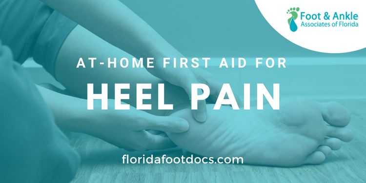 home treatment for heel pain