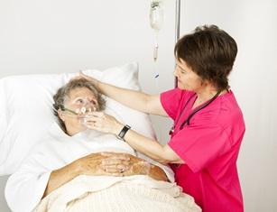 Aspiration pneumonia in nursing homes