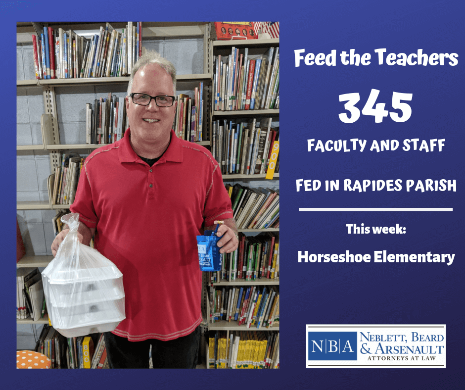 Feed The Teachers Neblett, Beard & Arsenault