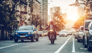 Motorcycles and lane change accidents NBA Law Firm