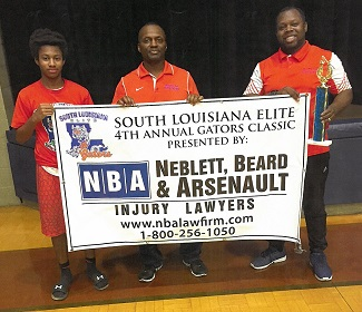NBA Sponsors South Louisiana Elite Gators Basketball