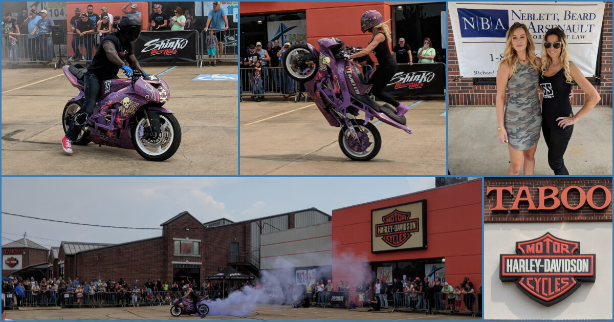 NBA Sponsors Event With Taboo Harley Davidson