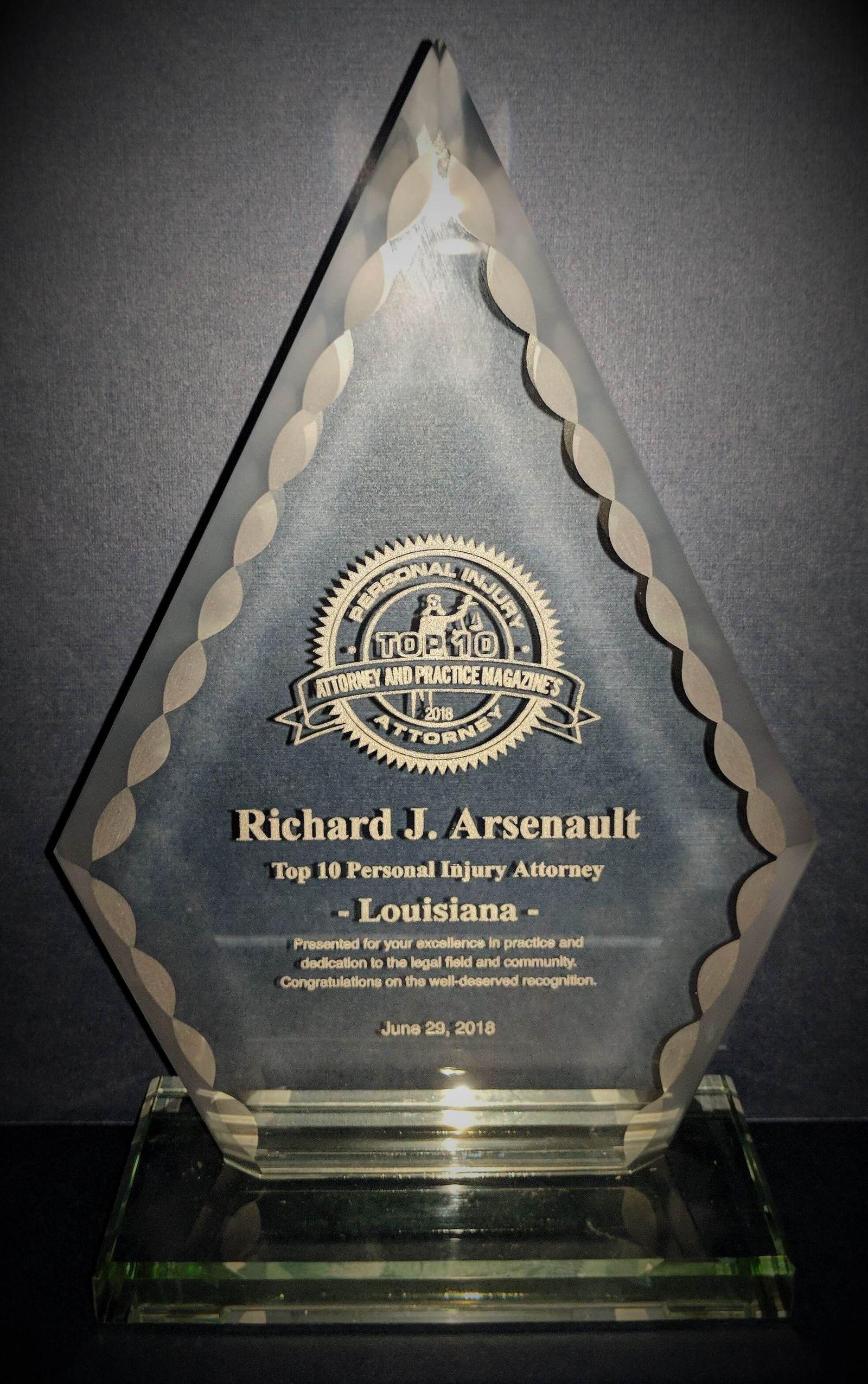 Richard Arsenault Top Attorneys 2018