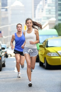 Car accidents with runners