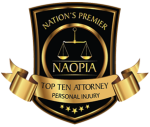 NAOPIA Top Ten Personal Injury Attorney Badge