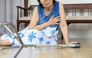 Why older people have higher risk of slip and falls