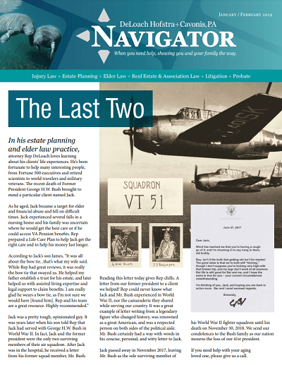 Winter 2019 Navigator Cover