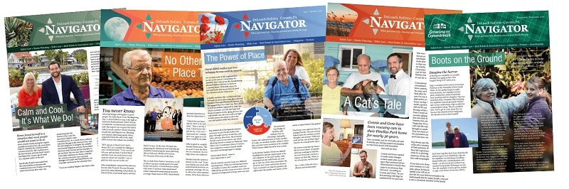 DHC client stories featured in the Navigator