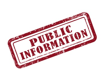 Public Information Stamp