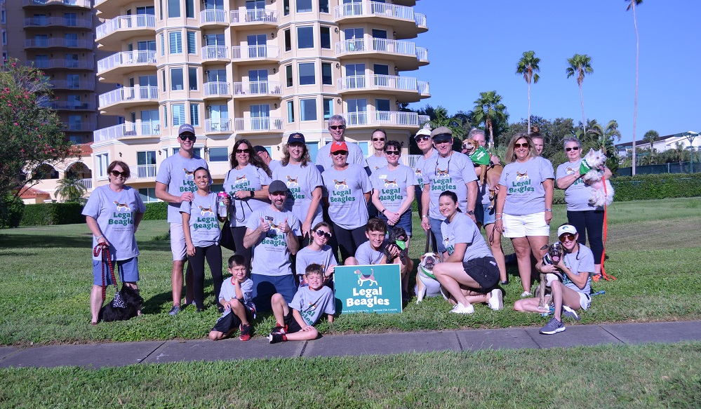 DHC Team at 2018 SPCA Pet Walk event