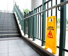 slip and fall accident locations