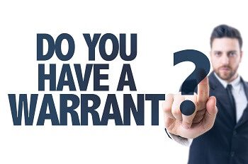 Man asking if you have a warrant in Virginia