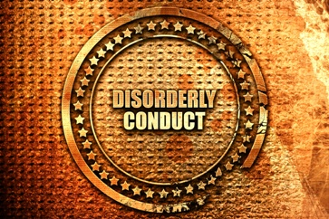 Disorderly Conduct Stamp