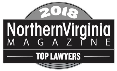 Northern Virginia Magazine Top Lawyer Award 2018